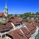 Old houses of Bern , Switzerland — Stock Photo #26699353