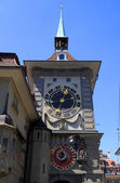 The medieval Zytglogge clock tower in Bern, Switzerland — Stock Photo