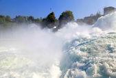 Famous Rhein Falls (Schaffhausen, Switzerland) — Stock Photo