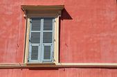 Shutter window , Nice, Cote d'azur, France. — Стоковое фото
