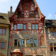 Stock Photo: Medieval buildings of Stein am Rhein (Switzerland)