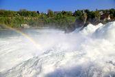 Rhein famoso cai (schaffhausen, suíça) — Foto Stock