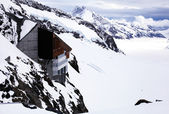 "Jungfraujoch - ""Top of Europe"" in Swiss Alps . — Stock Photo"