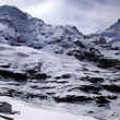 "Jungfraujoch - ""Top of Europe"" in Swiss Alps(Switzerland). — Stock Photo"