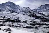 "Jungfraujoch - ""Top of Europe"" in Swiss Alps(Switzerland). — Stock Photo"