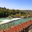 Cityscape of Bern and Aare river(Switzerland) — Stock Photo