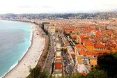 Promenade des anglais, Nice, France — Stock Photo