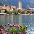 Montreux and  Lake Geneva, Switzerland. — Foto Stock