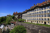 Old town of Bern, the Swiss capital and Unesco World Heritage ci — Stock Photo