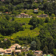 Green hills in Saint-Paul-de-Vence , Provence, South France. — Stock Photo