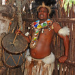 Stock Photo: Zulu drummer
