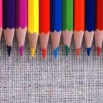 Multicolored pencils — Stock Photo