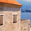 Stock Photo: Old mediterranefort and bay(Montenegro)