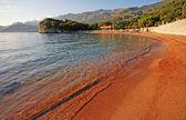 Adriatic sea beach view — Stock Photo