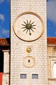 Famous clock tower of Dubrovnik(Croatia) — Stock Photo