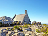 Stone house on Table Mountain(South Africa) — Stock Photo