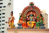 Hindu temple(Sinapore) — Stock Photo