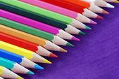 色とりどりのクレヨン — ストック写真