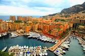 Yacht pier in Monte Carlo, Cote d'Azur — Stock Photo