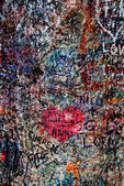 Love Wall at Juliet's House in Verona, Italy — Zdjęcie stockowe