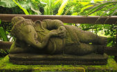 Ganesha- Hindu God of luck(Indonesia) — Stock Photo