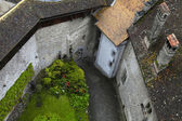Courtyard of The Chillon Castle ,Montreux, Switzerland. — Stock Photo