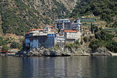 Gregoriou monastery,Mount Athos , Halkidiki, Greece — Stock Photo