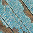 Peeling paint on wood background. — Stock Photo