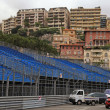 Tribune of Formula 1 Monaco Grand Prix — Stock Photo