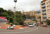 Monaco streets before the races of Formula 1 Grand Prix de Monac — Stock fotografie