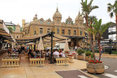 Casino Monte-Carlo and Cafe de Paris in Monte Carlo, Monaco — Stock Photo