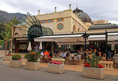 Famous Cafe de Paris in Monte Carlo, Monaco — Stock Photo