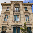 Belle Epoque ornate stone building, Nice,Cote d'Azur, France. — Stock Photo