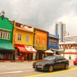 Chinatown district in Singapore — Stock Photo