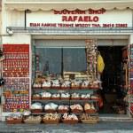 Souvenir shop, Greece — Stock Photo