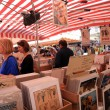 Vintage posters market in Nice, France — Stock Photo
