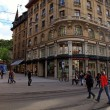 Rue du Marche in Geneva, Switzerland — Stock Photo