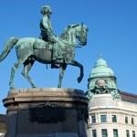 ������, ������: Statue of archduke Albrecht in Vienna Austria