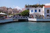 Agios Nikolaos, Crete, Greece. — Stock Photo