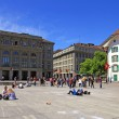 Bundesplatz square in Bern, Switzerland — Stock Photo