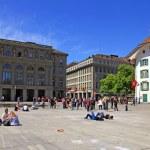 Bundesplatz square in Bern, Switzerland — Stock Photo #37711973