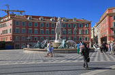 Fontaine du Soleil in Nice, France. — Stock Photo
