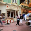 Stock Photo: Vintage streets of Old town in Nice, France