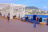 Promenade des Anglais in Nice, France — Stock Photo