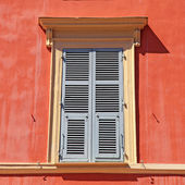 Shutter window , Nice, Cote d'azur, France. — Stock Photo