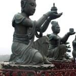 Buddhist Statues on Lantau island (Hong Kong). — Stock Photo #39477069