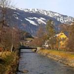 Mountain ski resort Bad Hofgastein, Austria — Stock Photo
