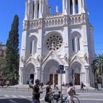 Basilique Notre Dame de Nice,France. — Foto Stock