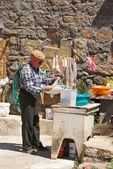 Senior man, Idanha-a-Velha, Portugal. — Stock Photo