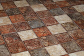 Terracotta tiles — Stock Photo